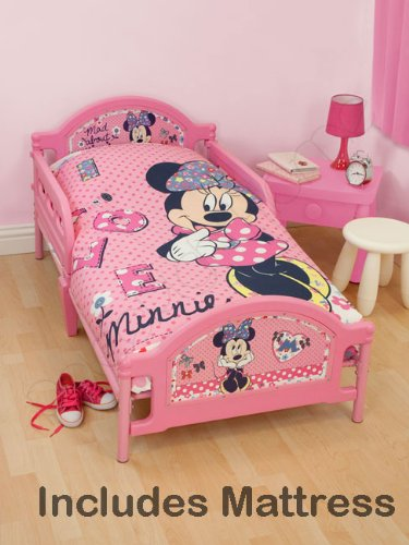 Minnie Mouse Shopaholic Junior Toddler Bed Foam Mattress