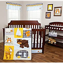 Trend Lab Let's Go Camping 3 Piece Crib Bedding Set
