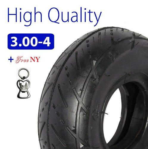 3.00-4 Also Known As (10 X 3, Or 260 X 85) Scooter Tire