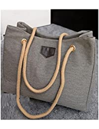 Women Big Beach Shopping Bag (Grey)