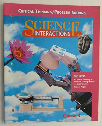 Critical Thinking / Problem Solving (Science Interactions, Course 3) PDF