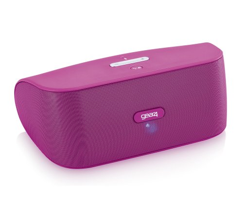 Gear4, Inc. PG748PNK StreetParty Wireless Portable Speaker for Any Smartphone with Bluetooth - Retail Packaging - Pink