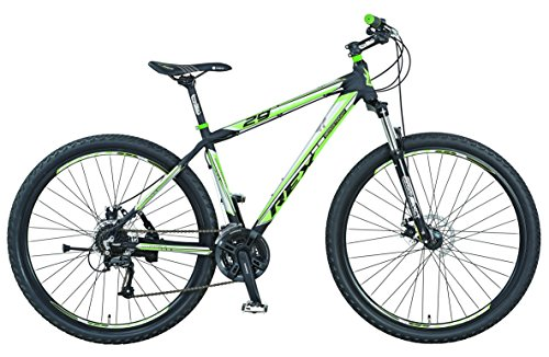 Prophete Herren Fahrrad REX Alu-MTB Twentyniner 29 Zoll Mountainbike BERGSTEIGER 2.01, mattschwarz, M, 53585-3111