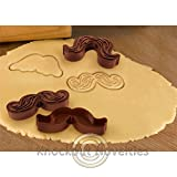 (Ship from USA) Munchstache Cookie Cutters Funny Cute Novelty Cookie Cutter Baking /ITEM NO#8Y-IFW81854267720
