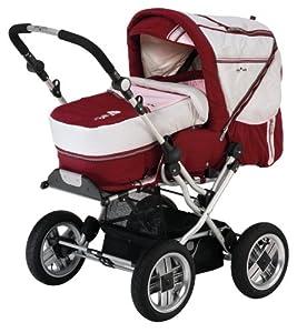 babywelt 780196 272 kombi kinderwagen riva air design flower baby. Black Bedroom Furniture Sets. Home Design Ideas