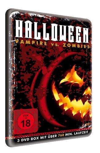 Halloween - Vampire vs. Zombies (8 Filme) [3 DVDs]