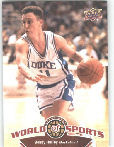 2010 Upper Deck World of Sports Trading Card # 7 Bobby Hurley