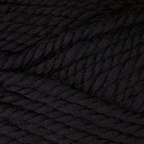 Patons Classic Wool Bulky Yarn (89040) Black