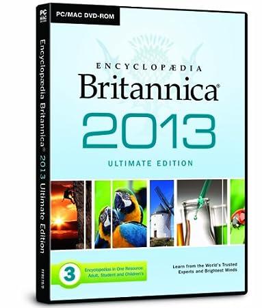 Encyclopaedia Britannica 2013 DVD