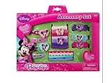 Disney Minnie Bowtique 20 Piece Hair Accessory Box Gift Set- With Terry I/o Barrette