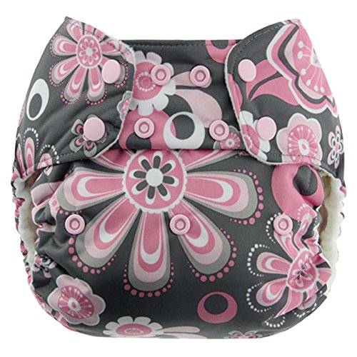 Blueberry Simplex All In One Diaper, Petals, One Size