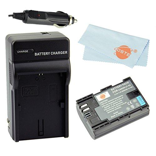 Dste Kit Lp-E6 Li-Ion Battery + Dc88 Charger For Canon Eos 5D Mark Ii, Eos 5D Mark Iii, Eos 6D, Eos 7D, Eos 60D, Eos 60Da, Eos 70D