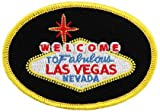 Welcome To Fabulous Las Vegas Sign Embroidered Patch Iron-On Nevada Casino Souvenir Emblem