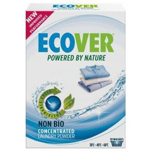(2 Pack) - Ecover - Wash Powder Conc. Non Bio Int | 750g | 2 PACK BUNDLE