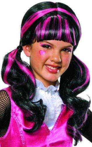 Monster High Federtasche Monster High Schlamperrolle Kosmetiktasche Draculaura Costume Wig