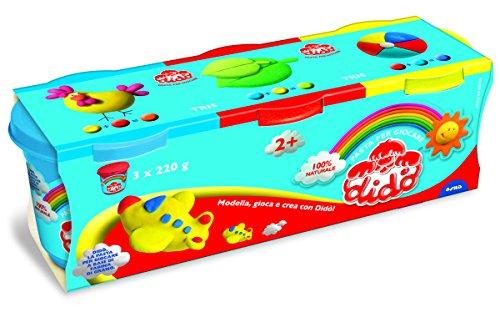 dido-tris-barattoli-di-pasta-per-giocare-220g-nei-colori-giallo-rosso-ed-azzurro