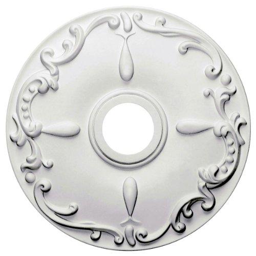 Ekena Millwork CM18KE 18-Inch OD x 3 1/2-Inch ID x 1 1/4-Inch Kent Ceiling Medallion