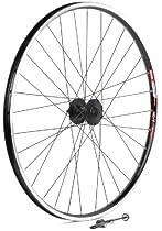 Sta-Tru Black Shimano Deore M525 6-Bolt Disc Hub Front Wheel (26X1.5-Inch)