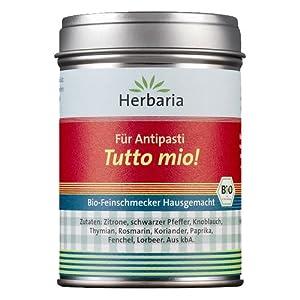 Herbaria Bio Tutto Mio Hausgemacht (4 x 65 gr) from Herbaria-Kräuterparadies GmbH