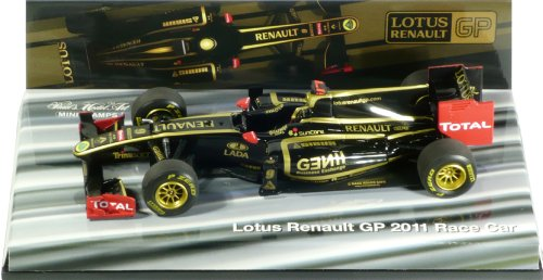 LOTUS RENAULT GP(チーム別注モデル)2011 ショーカー MINICHAMPS 1:43