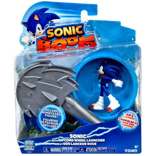 "Sonic The Hedgehog Sonic Boom Sonic 3"" Feature Action Figure"