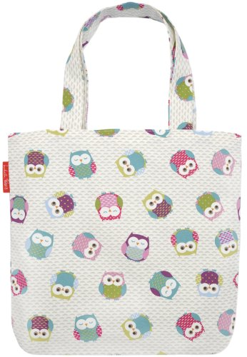 A Large Owl Tote Bag