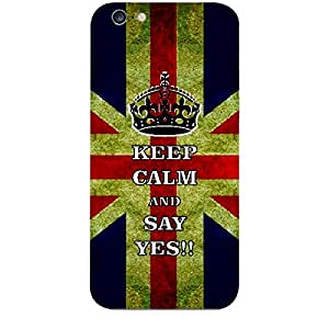 Skin4gadgets Keep Calm and SAY YES!! - Colour - UK Flag Phone Skin for APPLE IPHONE 6S