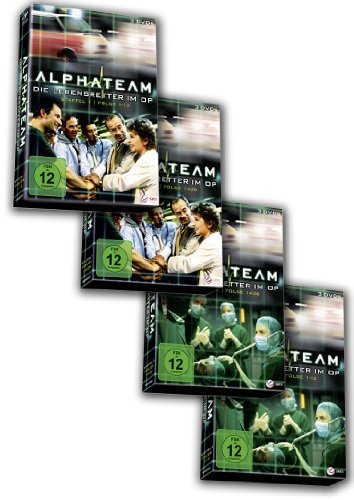 Alphateam - Staffel 1&2 [12 DVDs] - Bundle