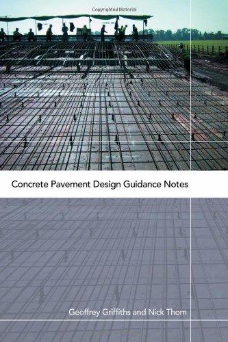 Concrete Pavement Design Guidance Notes