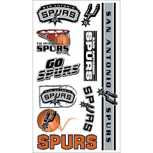 Amazon.com: NBA Temporary San Antonio Spurs Tattoo