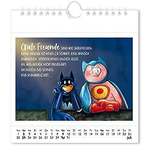 Unter uns gesagt 2017: Ein vergnüglicher Begleiter durch das neue Jahr, Postkartenkalender