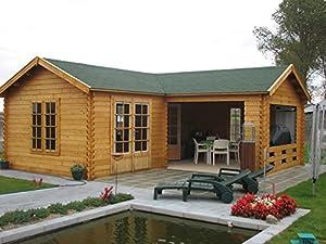 Log Cabin 33mm 635cm x 635cm