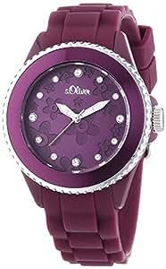 s.Oliver Damen-Armbanduhr Analog Quarz SO-2564-PQ