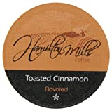 Hamilton Mills Toasted Cinnamon Coffee, 40-Count K-Cups for Keurig Brewers