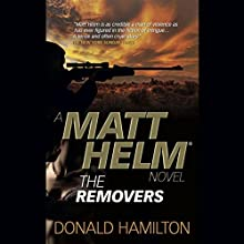 The Removers: Matt Helm, Book 3 (       UNABRIDGED) by Donald Hamilton Narrated by Stefan Rudnicki