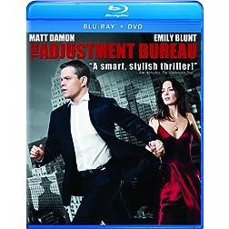 The Adjustment Bureau [Blu-ray/DVD Combo]