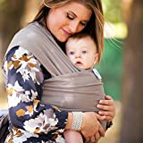 Moby Wrap Organic Cotton Baby Carrier, Clay