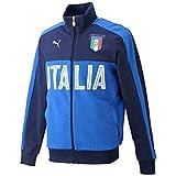 (プーマ)PUMA サッカー イタリア ファン トラックジャケット 750416 [メンズ] 05 ピーコート/チームパワーブルー M