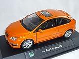 Ford Focus St Orange 3 TÃrer 2004-2010 C307 1/24 Cararama Modellauto Modell Auto