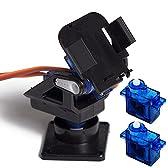SG90サーボ用 2軸 カメラマウント 2軸アングル FPV 空撮にも (マウント+SG90(2個))