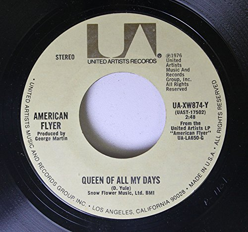 american-flyer-45-rpm-queen-of-all-my-days-let-me-down-easy