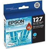 Epson T127220 DURABrite Ultra 127 Extra High-capacity Inkjet Cartridge -Cyan