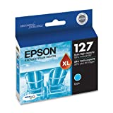 Epson T127220 DURABrite Ultra 127 Extra High-capacity Inkjet Cartridge -Cyan