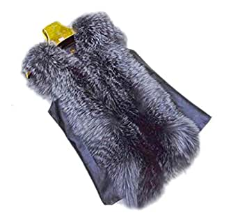 &Sheep Leather Vest Gilet Waistcoat US 4 at Amazon Women's Coats Shop