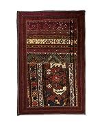 QURAMA Alfombra Persian Classic Patchwork Rojo/Multicolor 104 x 65 cm
