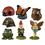 Grasslands Road Miniature Garden Figurine Assortment, 1-Inch, 14-Pack