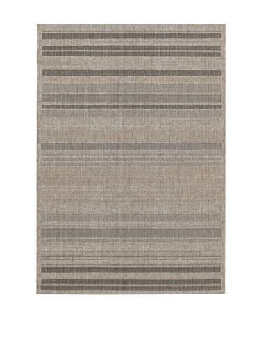 ABC Tappeto Veranda Stripes Grigio 133 x 190 cm