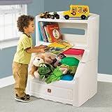 Step2  Bookcase Storage Chest