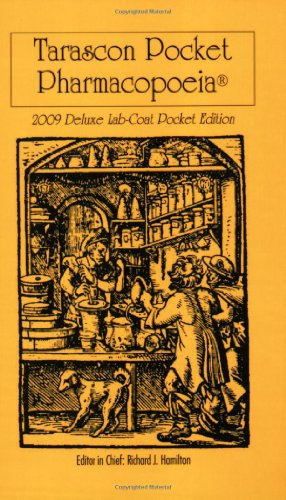 Image for Tarascon Pocket Pharmacopoeia 2009 Deluxe Lab-Coat Pocket Edition