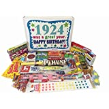 1924 92nd Birthday Gift Basket Box Retro Nostalgic Candy From Childhood